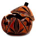 Andes, Peru, Fair Trade, Boxes, Box, Gourd, Geometric, Handcarved