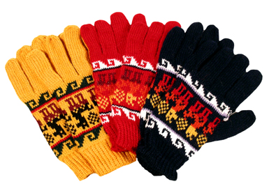 Alpaca, Gloves, Mittens, Ski, Winter, Andes, Peru, Fair Trade