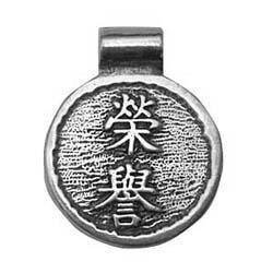 China, Wisdom of China, Honor, Pendant, High Concepts, Leadfree, Pewter, Amulet