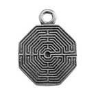 Zemi, Labyrinth, Pendant, High Concepts, Leadfree, Pewter, Amulet