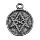 Zemi, Magic Hexagram, Pendant, High Concepts, Leadfree, Pewter, Amulet