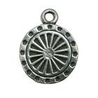 Zemi, Hindu Wheel, Pendant, High Concepts, Leadfree, Pewter, Amulet