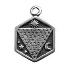 Zemi, Abracadabra, Pendant, High Concepts, Leadfree, Pewter, Amulet