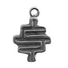Zemi, Clay Seal, Pendant, High Concepts, Leadfree, Pewter, Amulet