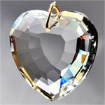Heart in Heart Crystal