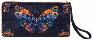 Butterfly mosaic wallet, Crystal Peddler