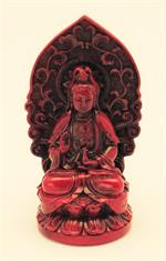 Kuan Yin on Lotus Throne SM