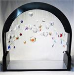 Lit Crystal Display Package, Crystal Peddler