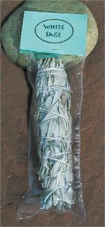 White Sage, Smudge, packaged
